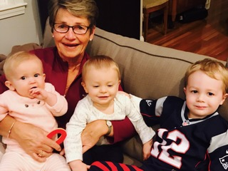 Mormor with Maisie, Parker, and Griff 10/9/16